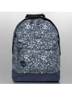 Mi-Pac Premium Backpack Denim Splatter Indigo/Silvercolour