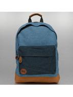 Mi-Pac Denim Patch Premium Backpack Stonewash/Indigo