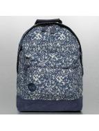 Mi-Pac Premium Backpack Denim Splatter Indigo/Silvercolour