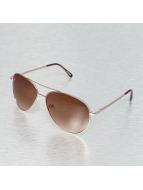 Miami Vision Lunettes de soleil Aviator brun