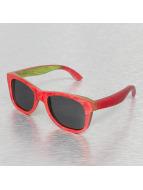 Miami Vision Lunettes de soleil Vision Wood Polarized rouge