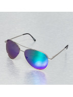 Miami Vision Sonnenbrille Aviator silberfarben