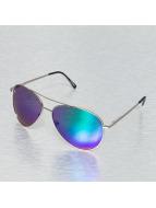 Miami Vision Zonnebril Aviator zilver