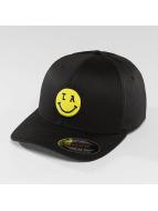 Mister Tee Flexfitted Cap LA Smile zwart