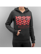 Mister Tee Hoody Ladies Twenty One Pilots Judge Stripe grau