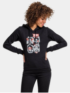 Mister Tee Hoody Five Seconds Of Summer Faces schwarz