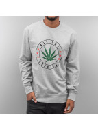 Mister Tee Pullover All Day grau