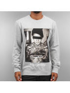 Mister Tee Pullover Good Day gris