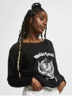 Mister Tee Pullover Ladies Motörhead Everything Louder Wideneck noir