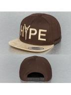 Mister Tee Snapback Cap Hype braun