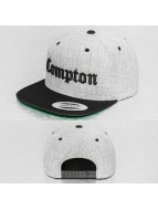 Mister Tee Snapback Cap Compton grau