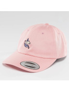 Mister Tee Snapback Cap Unicorn Dad rosa chiaro
