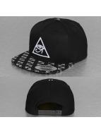 Mister Tee Snapback Cap Horus Eye Logo schwarz