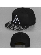 Mister Tee Snapback Caps Horus Eye Logo musta