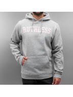 Mister Tee Sweat à capuche Ruthless gris