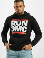Mister Tee Sweat à capuche Run DMC Logo noir