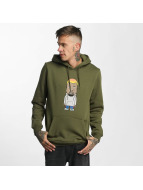 Mister Tee Sweat à capuche Name One olive