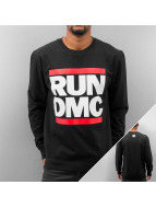 Mister Tee Sweat & Pull Run DMC Logo noir