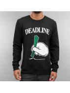Mister Tee Swetry Deadline czarny