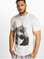 Mister Tee T-shirt 2Pac F*ck The World bianco