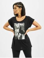 Mister Tee T-shirt 2Pac Banadana nero