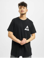 Mister Tee T-shirt Triangle nero