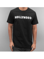 Mister Tee T-Shirt Hollyweed noir