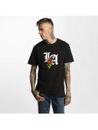 Mister Tee T-Shirt LA Rose noir