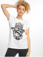 Mister Tee t-shirt Hand of Fatima wit