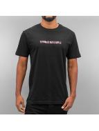 Mister Tee t-shirt All The Way Up Pink zwart