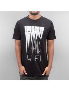 Mister Tee t-shirt I Have Wifi zwart