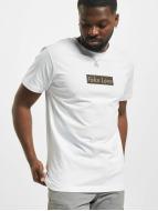 Mister Tee T-shirtar Fake Love vit