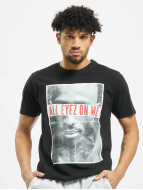 Mister Tee T-Shirty 2PAC All Eyez On Me czarny