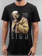 Mister Tee T-Shirty Sido Geuner czarny