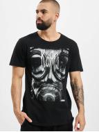 Mister Tee T-Shirty Korn Asthma czarny