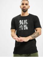 Mister Tee T-Shirty Tupac Shakur Hands czarny