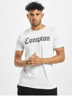Mister Tee T-skjorter Compton hvit