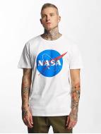 Mister Tee T-skjorter NASA hvit