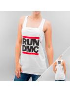 Mister Tee Tank Tops un DMC Logo beyaz