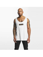 Mister Tee Tank Tops Fake Love blanco