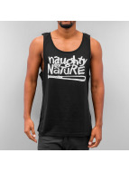 Mister Tee Tank Tops Naughty By Nature svart
