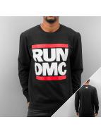 Mister Tee Tröja Run DMC Logo svart