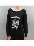 Mister Tee trui Ladies Motörhead Everything Louder Wideneck zwart