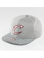 Mitchell & Ness Casquette Snapback & Strapback NBA Cracked Cleveland Cavaliers gris