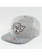 Mitchell & Ness Casquette Snapback & Strapback NHL Cracked LA Kings gris