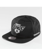 Mitchell & Ness Casquette Snapback & Strapback NHL Black Ripstop Honeycomb LA noir
