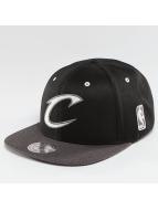 Mitchell & Ness NBA 2-Tone Logo Cleveland Cavaliers Snapback Cap Black/Charcoal
