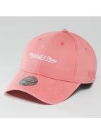 Mitchell & Ness Casquette Snapback & Strapback Pastel 2-Tone Logo rose