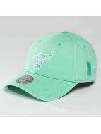 Mitchell & Ness Casquette Snapback & Strapback NBA Pastel 2-Tone Logo Chicago Bulls vert