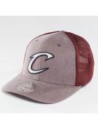 Mitchell & Ness Casquette Trucker mesh NBA Washout 110 Flexfit Cleveland Cavaliers rouge